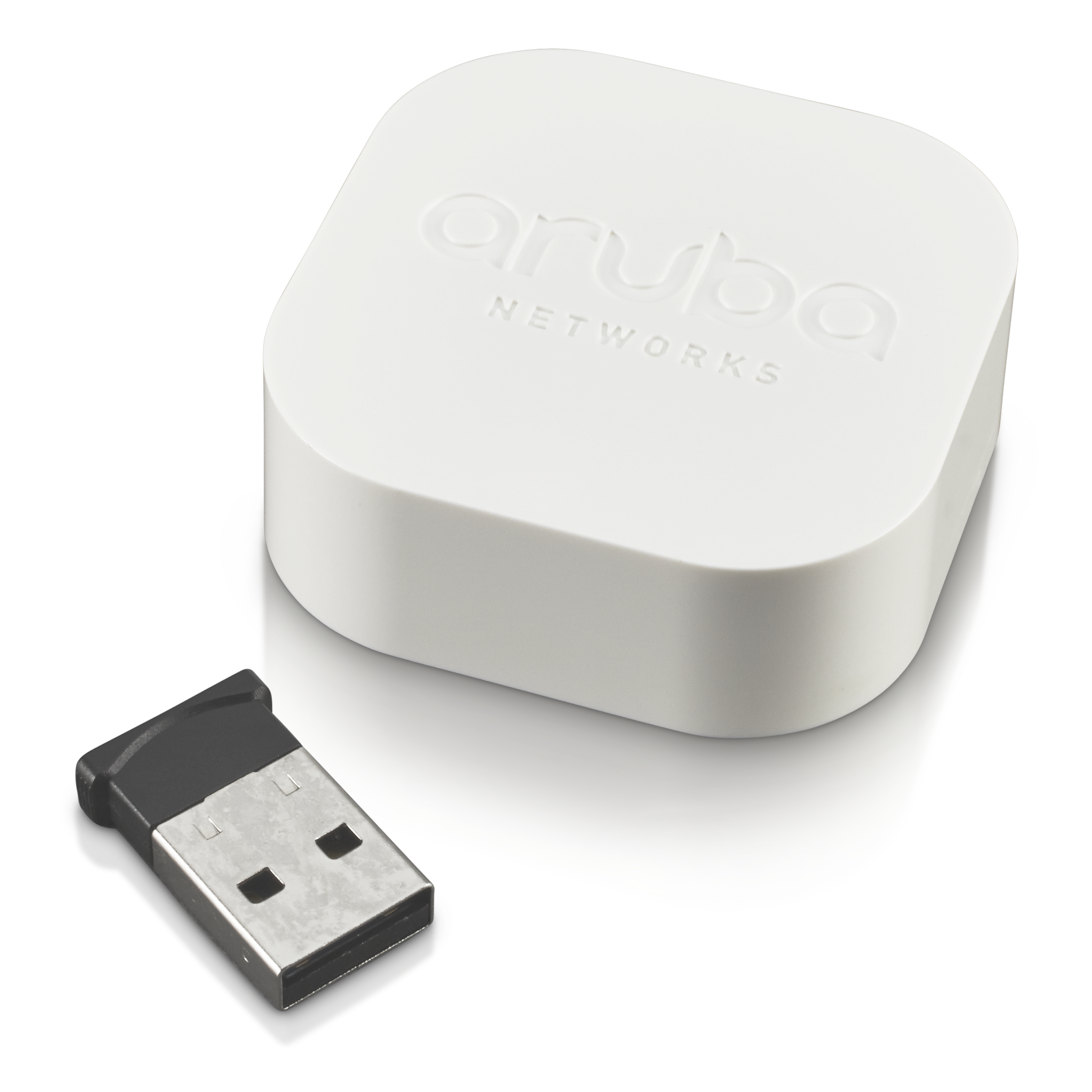USB Beacon (Image courtesy of Aruba Networks, a Hewlett Packard Enterprise company)