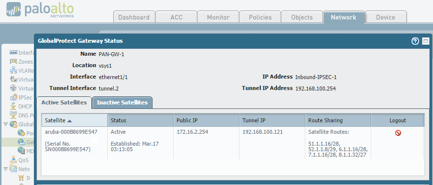 Managed Device Integration with a Palo Alto Networks (PAN
