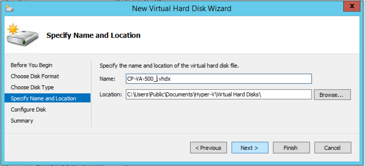 Using Microsoft Hyper-V to Install ClearPass on a Virtual
