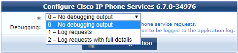 Configuring the IP Phone Services Plugin