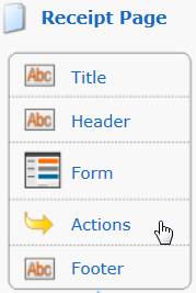 editing receipt actions
