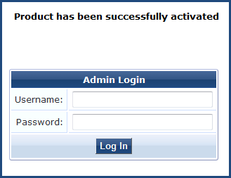 Initial Login and Activation of the ClearPass Platform License