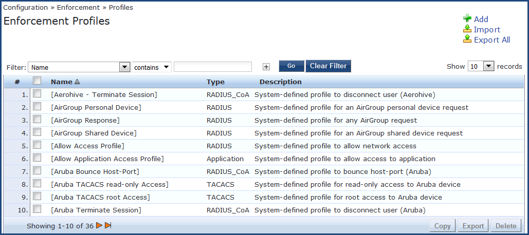 Integrating ClearPass with Juniper Networks SRX Endpoint