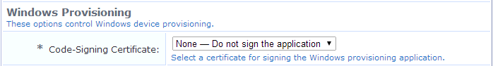 Importing a Code-Signing Certificate