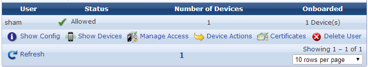 Device Management (View by User)
