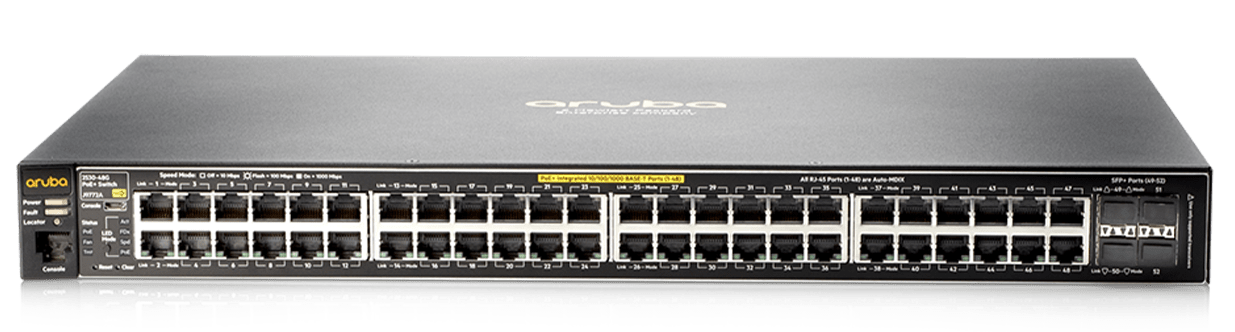 Details and specifications for the Aruba 2530 Switch Series
