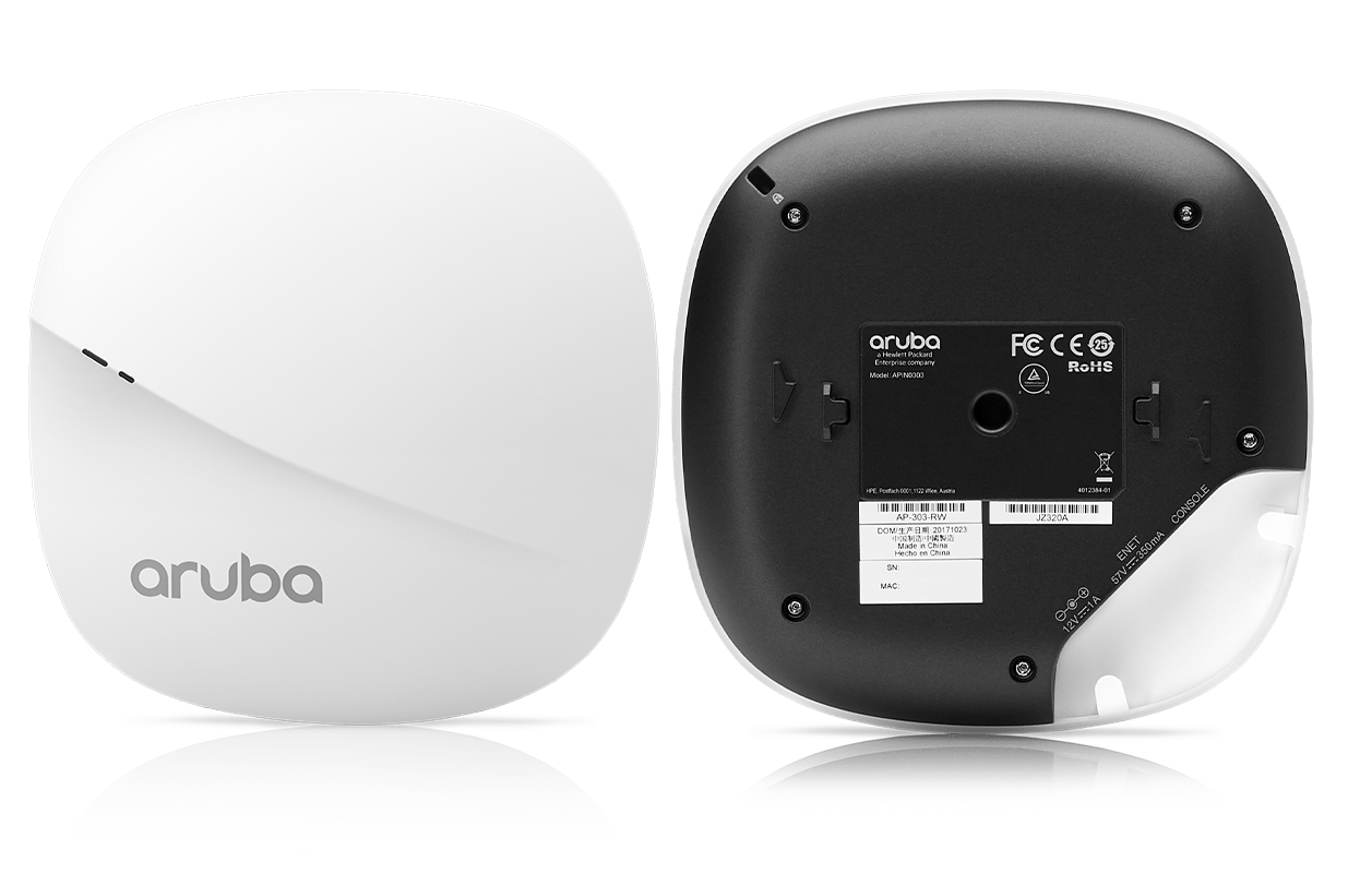 Details and specifications for the Aruba 303 Series APs