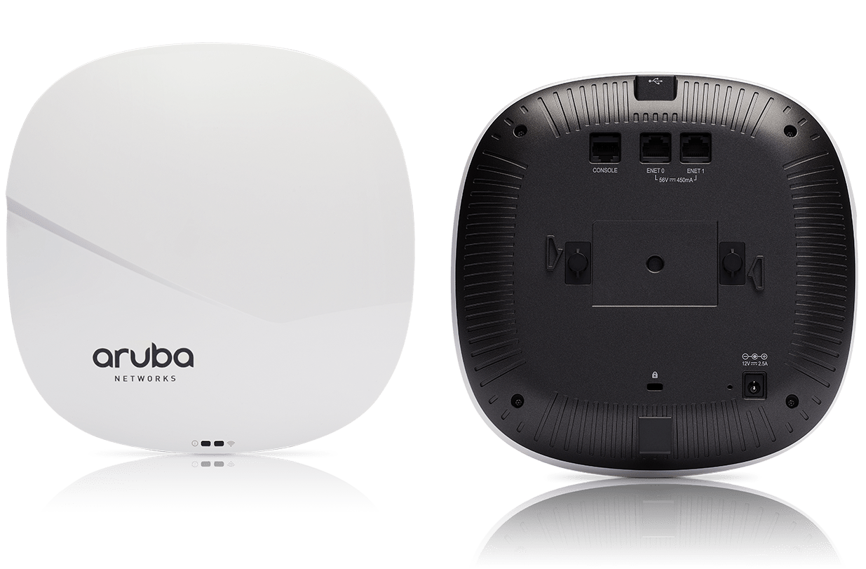 Details and specifications for the Aruba 320 Series APs