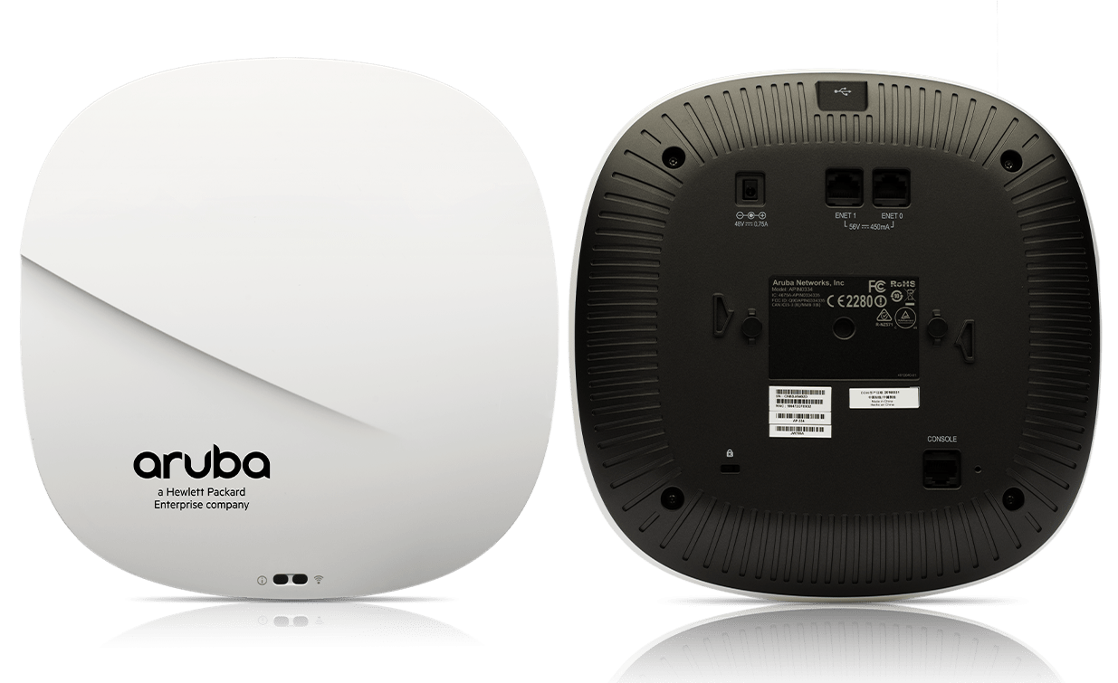 Details and Specifications for the Aruba 330 Series APs