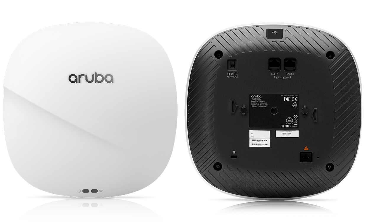 Details and Specifications for the Aruba 340 Series APs