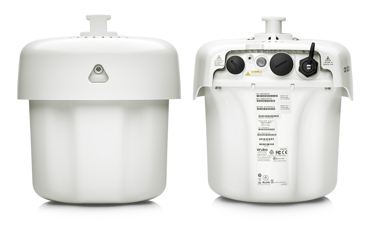 Details and specifications for the Aruba 370 Series APs