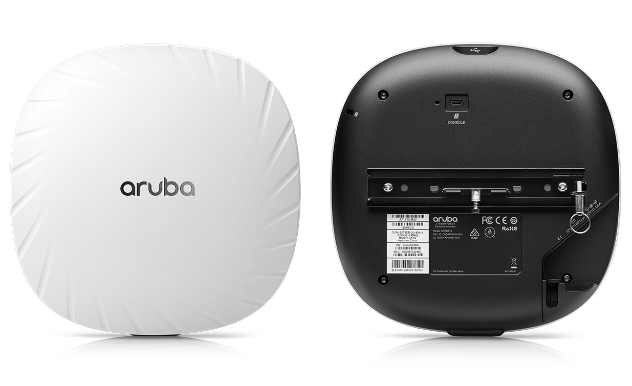 side by side image of 510 access point front and back