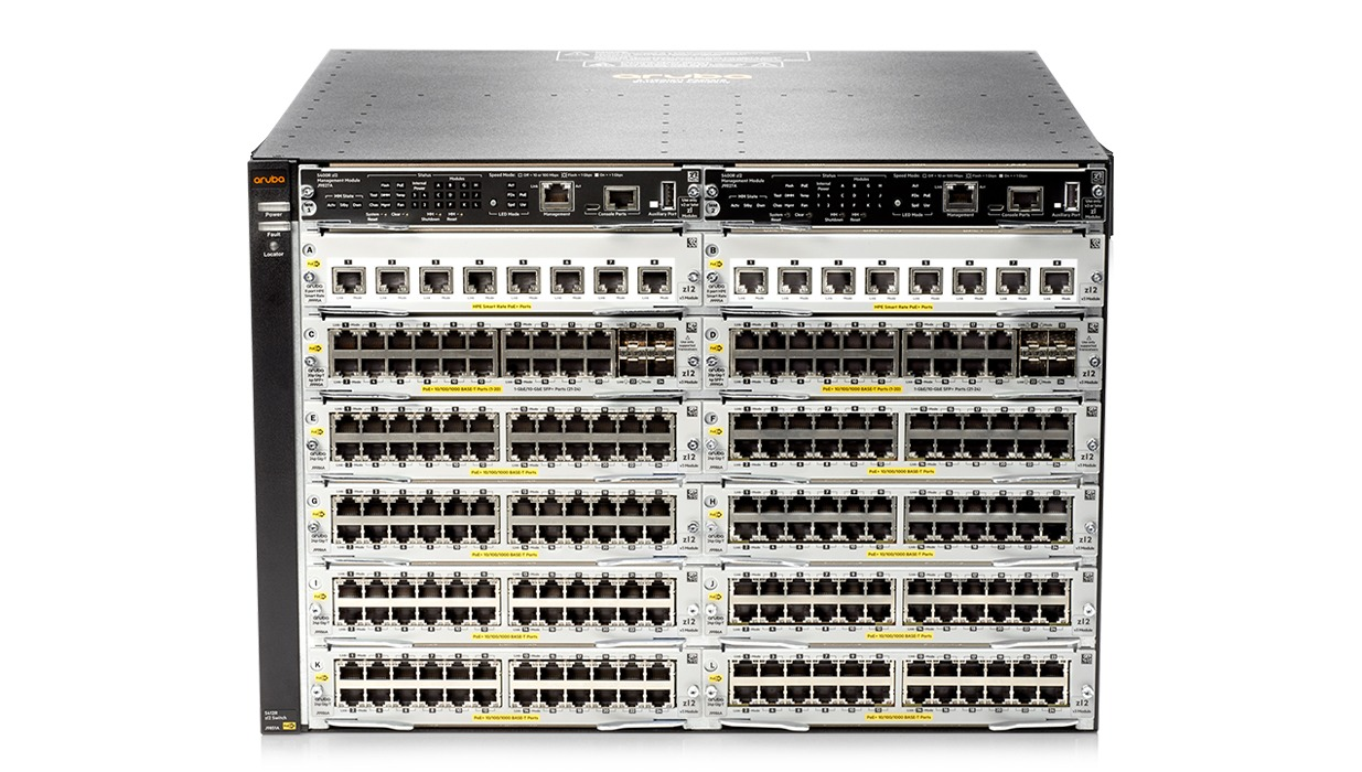 Details and specifications for the Aruba 5400R Series