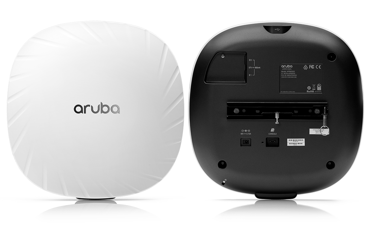 Details and Specifications for the Aruba 550 Series APs