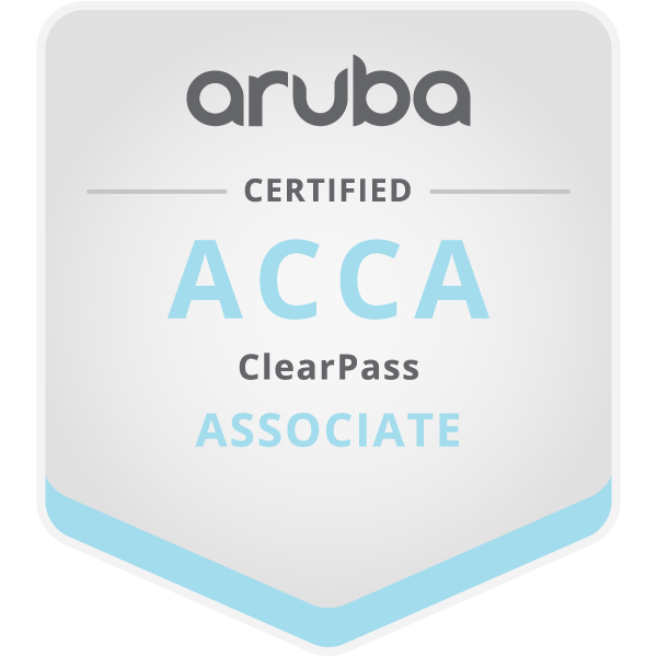 Aruba Certified ClearPass Associate