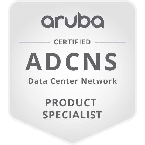 Aruba Data Center Network Specialist (ADCNS)