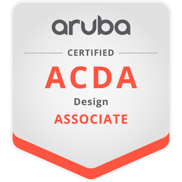 « Associate » en conception  certifié par Aruba