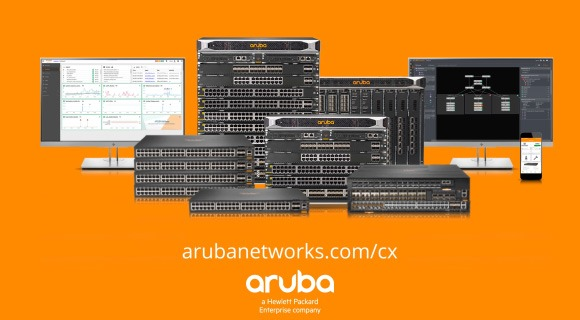 Power the IoT and Wi-Fi 6 Future with Aruba CX Switching