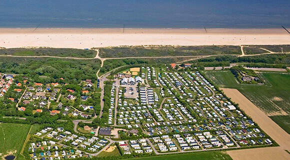 One of Molecaten's 17 camping parks