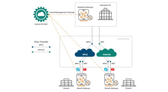 Aruba SD-WAN Dynamic Path Steering with SLA