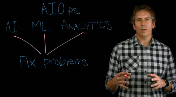 Aruba AIOps lightboard video