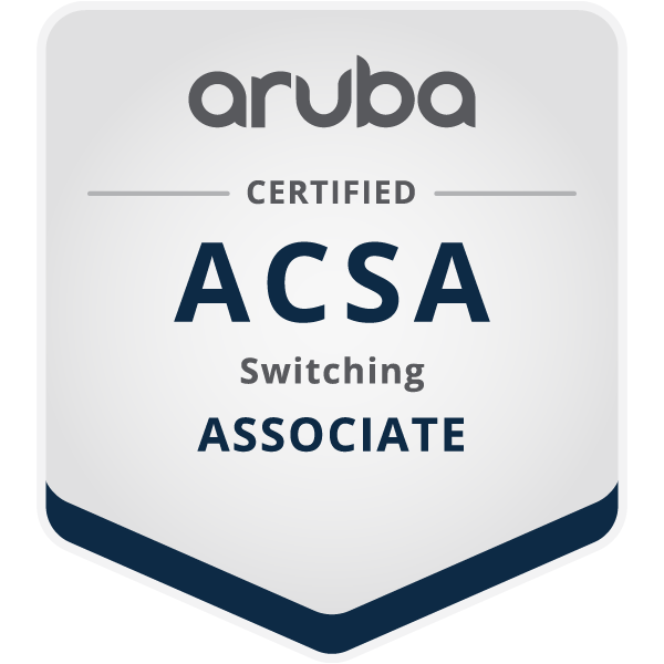 « Associate » en commutation certifié par Aruba