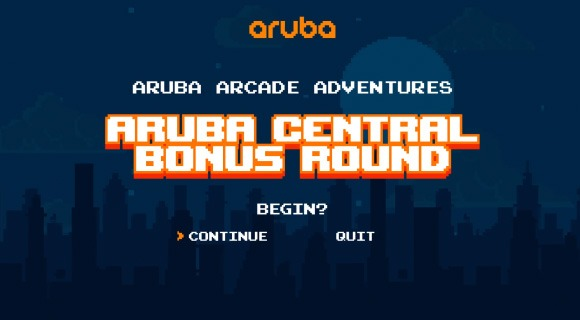 Aruba Arcade Adventures: How to Simplify Cloud Networking
