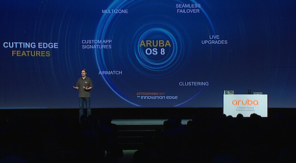 Atmosphere 2017 ArubaOS 8 Demo: The foundation for the next decade