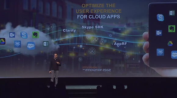 Atmosphere 2017 Opening Keynote: Mobile-cloud is changing IT experiences