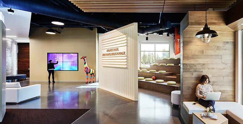 Inside the Customer Experience Center (CEC) at Aruba Headquarters in Santa Clara, CA