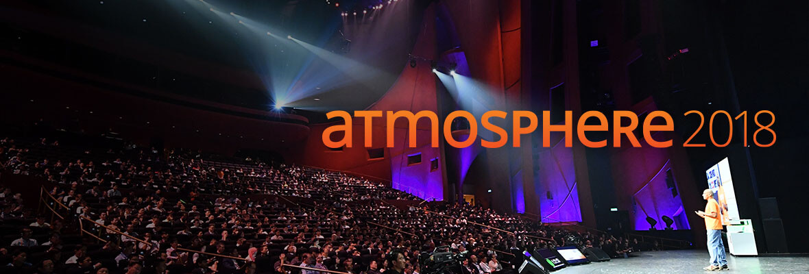 Don't miss Atmosphere 2018
