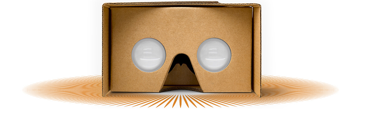 Free Google Cardboard headset with signup for company email c/o ArubaNetworks