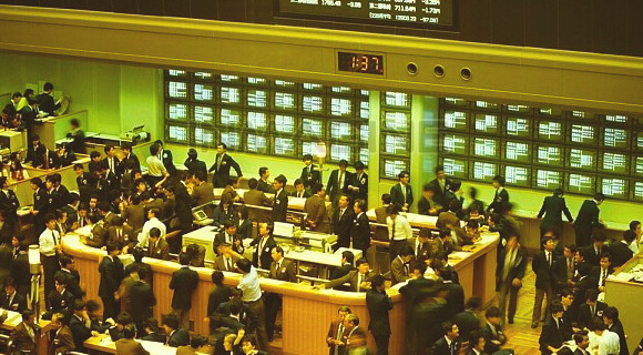 Stockexchange floor