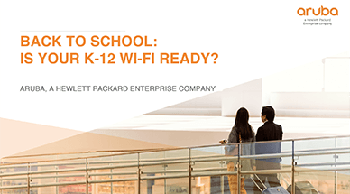 Back to School: Is your K-12 Wi-Fi ready?