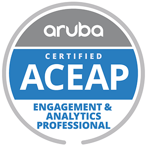Aruba Certified Engagement and Analytics Professional
