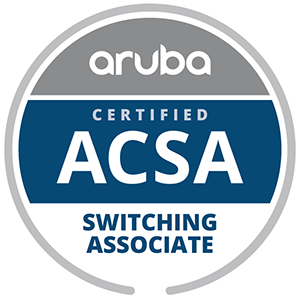 Aruba Certified Switching Associate (ACSA)