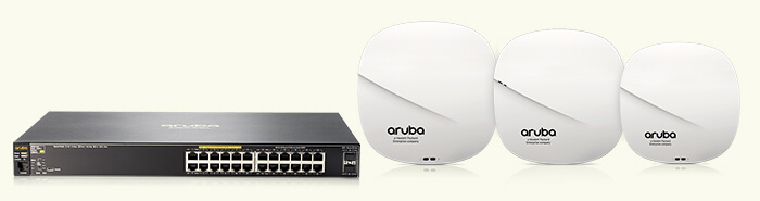 Blazing fast Wi-Fi, multi-gig Ethernet. Secure IoT.