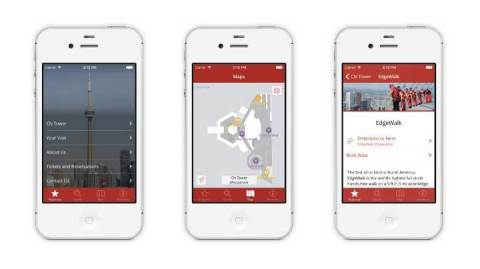 CN Tower's mobile app leverages Aruba's Mobile Engagement Solution to give its 1.6 million annual visitors a personalized experience
