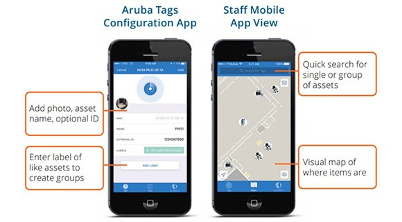 Aruba Asset Tracking Solution Overview