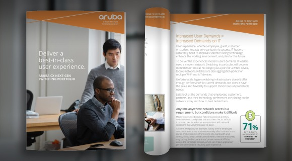 Aruba CX eBook: Deliver a best-in-class user experience